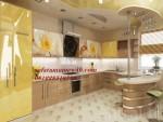Kitchen set mewah model minibar