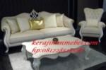 Sofa tamu ukiran ratu