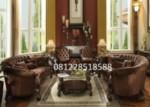 Set Kursi Sofa Tamu Mewah Ukiran Klasik
