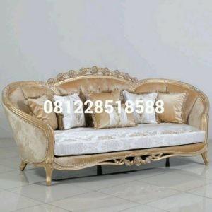 Sofa Tamu Mewah Ukiran Klasik