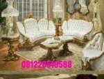 Set Kursi Sofa Tamu Mewah Ukiran