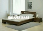 Set Kamar Tidur Minimalis Jati Murah