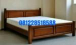 Tempat Tidur Kamar Mewah Jati