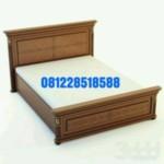 Tempat Tidur Mewah Jati Minimalis