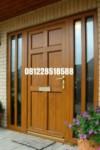 Kusen Pintu Utama Jati Minimalis
