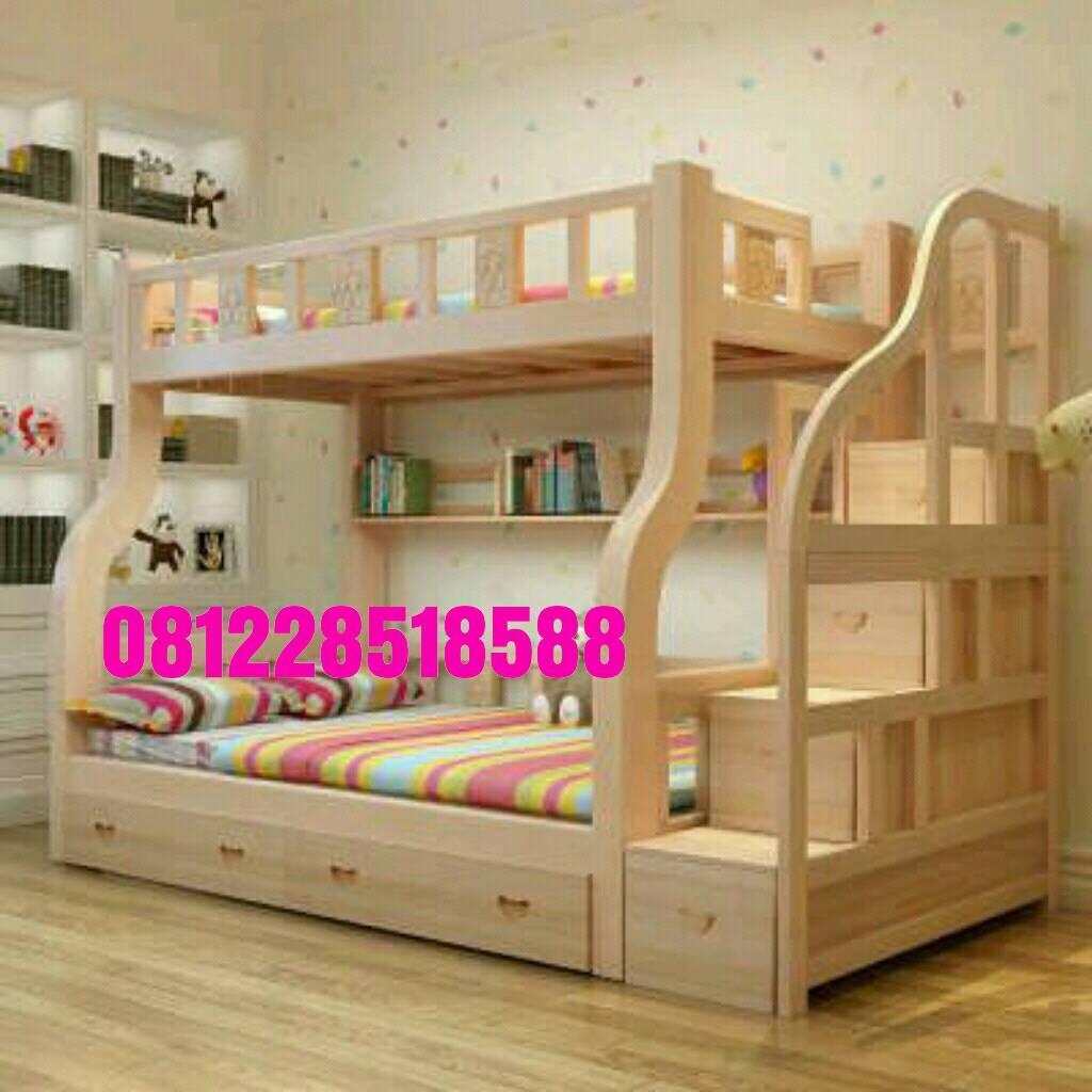 Set Kamar Tidur Anak Ukiran