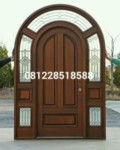 Pintu Kusen Utama Minimalis Jati