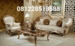 Set Kursi Sofa Tamu Ukiran Mewah