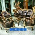Set Sofa Kursi Tamu Jati Ukiran