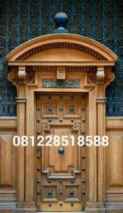 Pintu Kusen Jati Minimalis