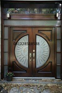 Kusen Pintu Utama Klasik Jati Minimalis