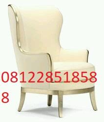 Kursi Tamu Minimalis Mewah Wing Chair