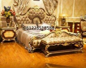Set Kamar Tidur Klasik Ukiran Mewah Duco