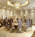 Set Meja Kursi Makan Oval