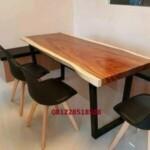 Meja Trembesi Untuk Cafe