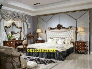 Furniture Set Kamar Tidur Jati Ukiran