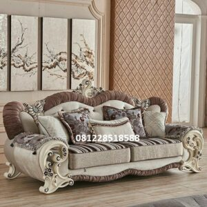 Furniture Sofa Tamu Mewah Ukiran