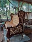 Sofa Tamu Mewah Klasik Ukiran