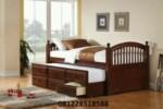 Tempat Tidur Anak Kayu Jati